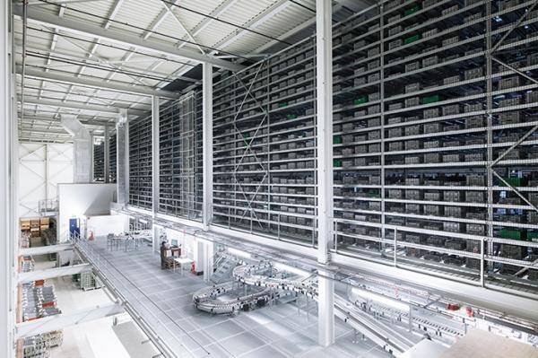 TGW systémy skladování